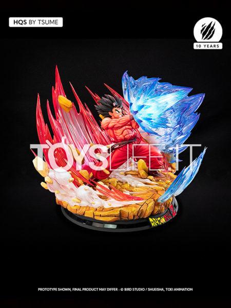 Tsume Art Dragonball Z Goku Kaio-Ken HQS Statue
