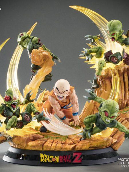Tsume Art Dragonball Z Krillin Heroes In Terror HQS Statue