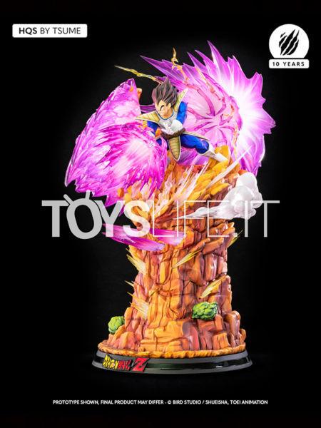 Tsume Art Dragonball Z Vegeta Galick Gun HQS Statue