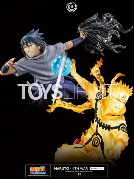 Tsume Art Naruto 4th War Naruto/ Sasuke Ikigai Statue