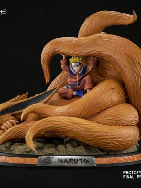 Tsume Art Naruto & Kyubi HQS Statue
