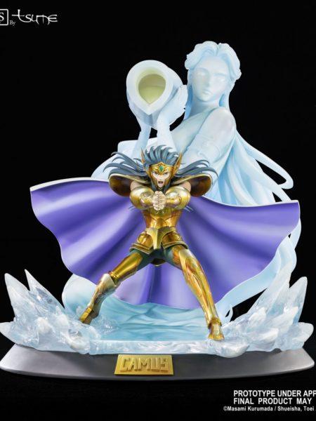 Tsume Art Saint Seiya Camus Aquarius HQS Statue