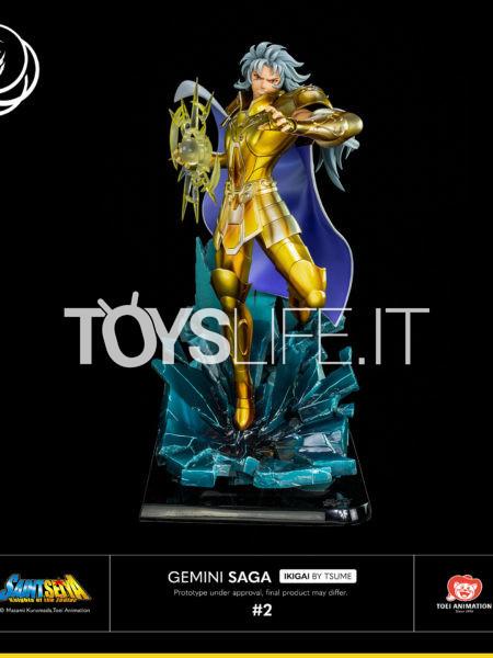 Tsume Art Saint Seiya Saga Gemini Gold Cloth Ikigai Statue