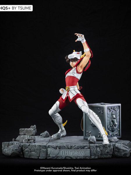 Tsume Art Saint Seiya Seiya Pegasus HQS+ Statue