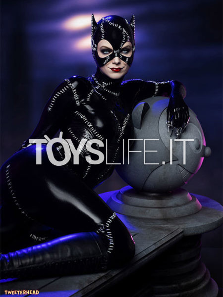 Tweeterhead DC Batman Returns Catwoman Michelle Pfeiffer 1:4 Maquette