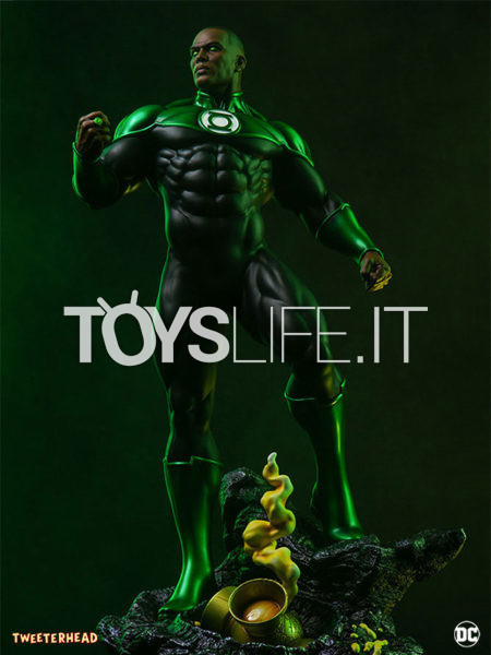 Tweeterhead DC Comics John Stewart Green Lantern Maquette