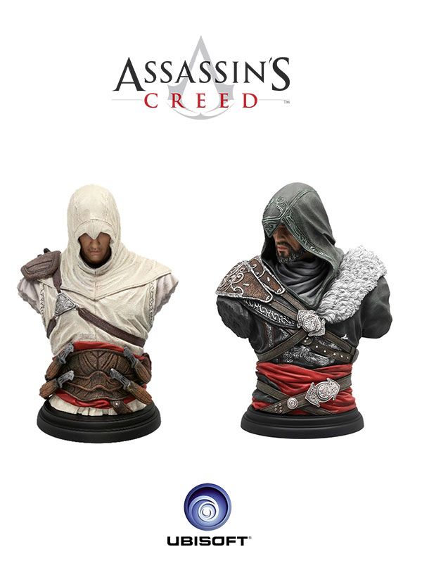 Ubisoft Assassin's Creed Legacy Collection Bust Altair & Ezio