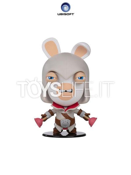 Ubisoft Assassin's Creed Raving Rabbid Heroes Collection Rabbid Ezio Chibi Figure