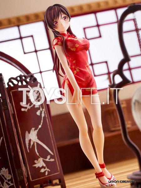 Union Creative Rent a Girlfriend Chizuru Mizuhara China Dress Version 1:7 Pvc Statue