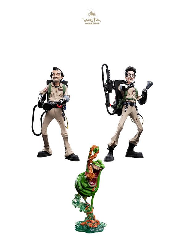 Weta Ghostbusters Mini Epics Spengler/Venkman/Slimer