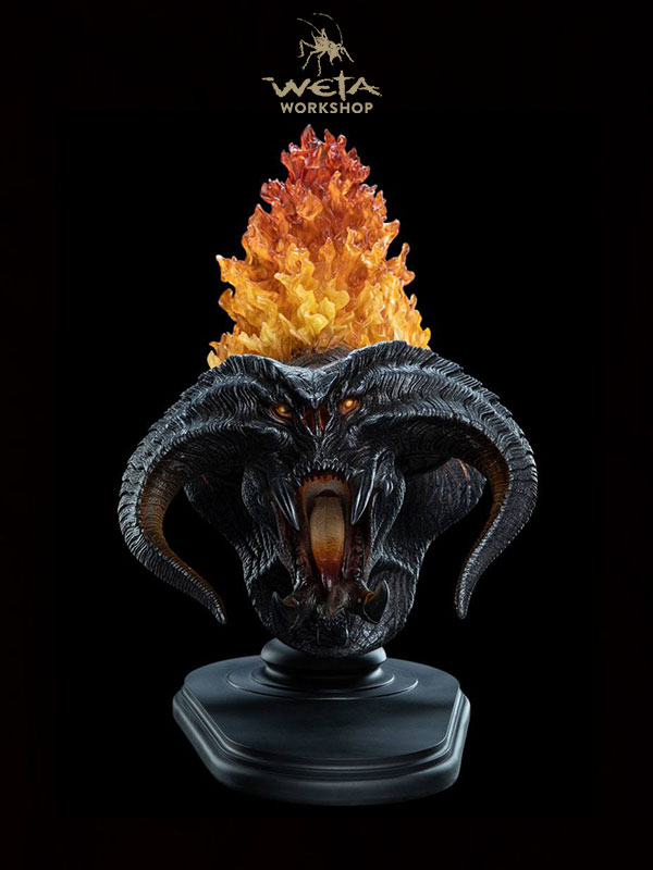 Weta Lord of the Rings Balrog Flame of Udun Bust