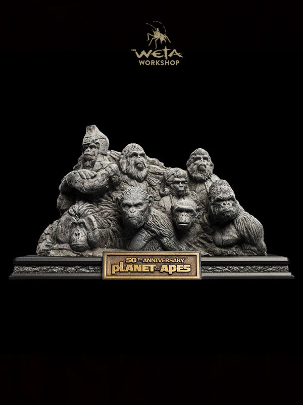 Weta Planet of the Apes Apes through the Ages Statue