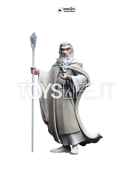 Weta The Lord Of The Rings Gandalf The White Mini Epics Pvc Figure