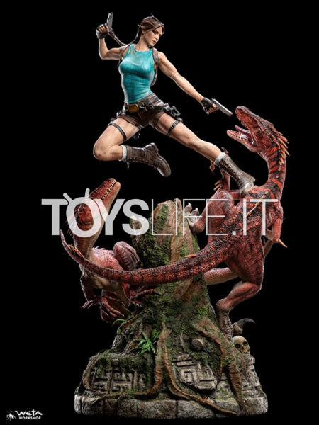 Weta Tomb Raider Lara Croft The Lost Valley 1:4 Statue