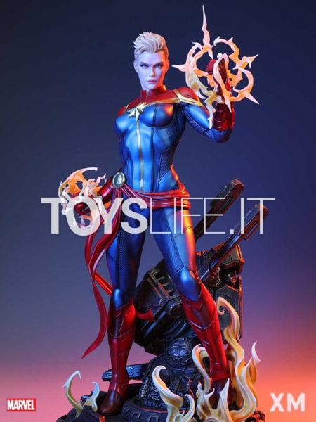 XM Studios Marvel Comics Captain Marvel 1:4 Statue
